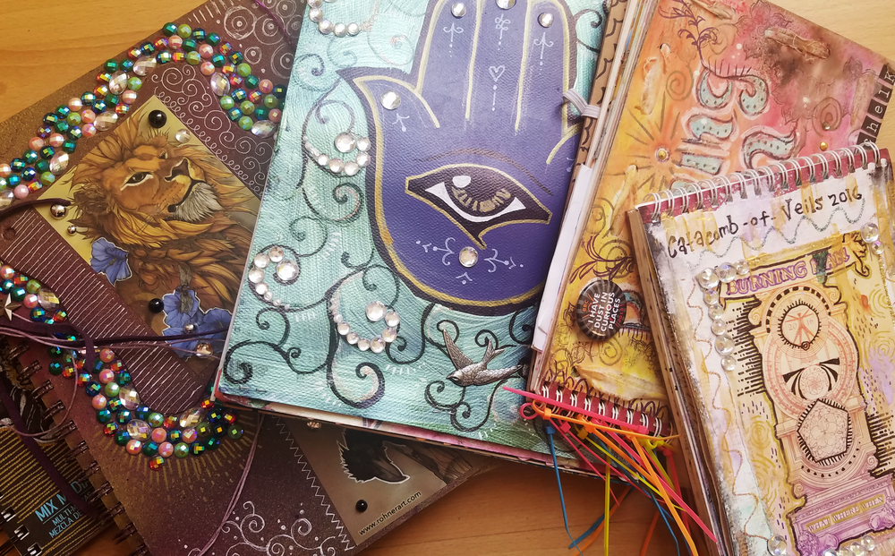 I've got Art Journals from several years back!