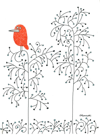 red-bird-in-tree