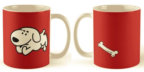Pup and Bone - mug
