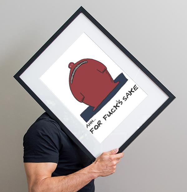 Bad News - Framed Print