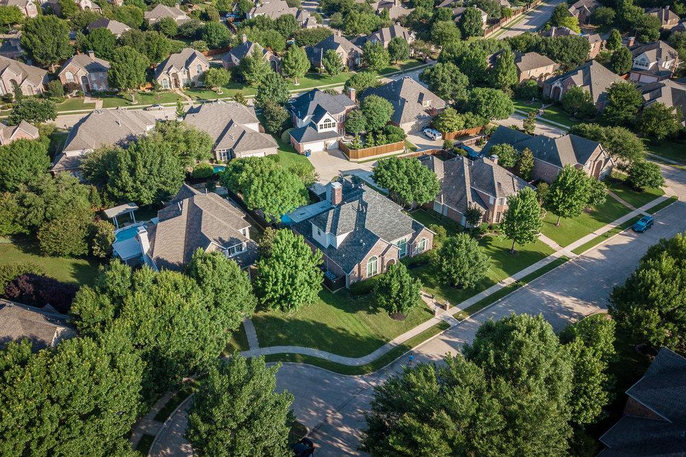 619 Driftwood Court Allen Texas 75013 AERIAL (5).jpg