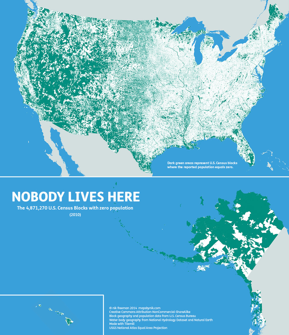 The green areas represent zones where population is literally 0. We need scouts to seed these regions. - Those who believe in overpopulation should perhaps do a little scouting.