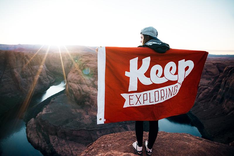 Keep Exploring. -