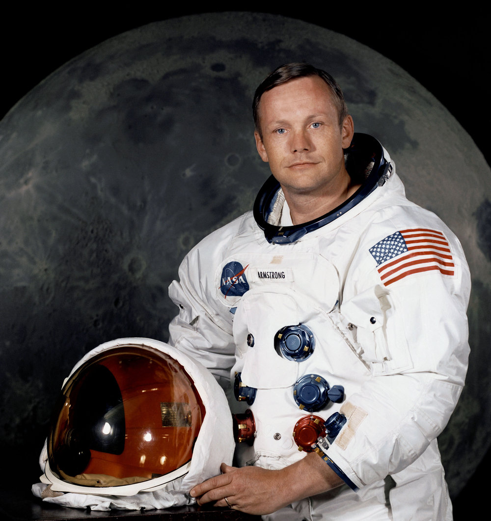 Neil Armstrong. -