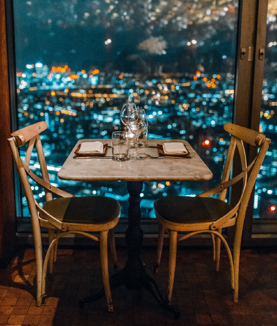 Forget dinner. Escape to the city. -