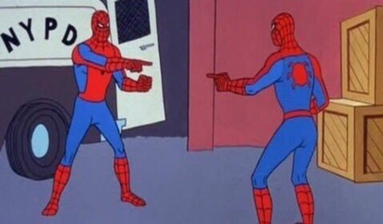 Preview of me seeing other people who studied sports at the 2017 American Studies Association Conference, courtesy of a 1960's Spider-Man cartoon.