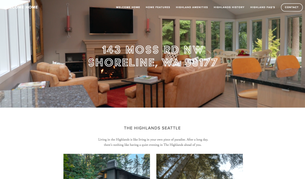 HIGHLANDS SEATTLE -