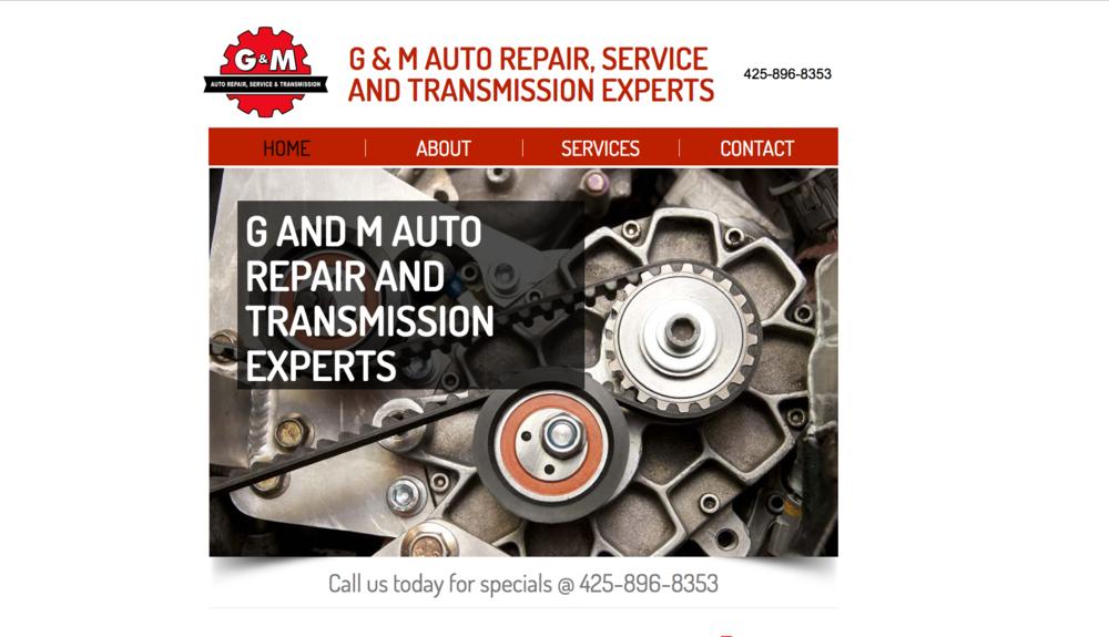 G & M AUTO REPAIR -