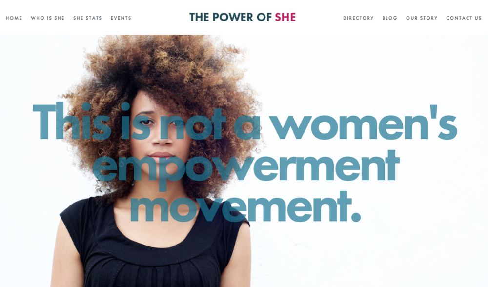 THE POWER OF SHE -