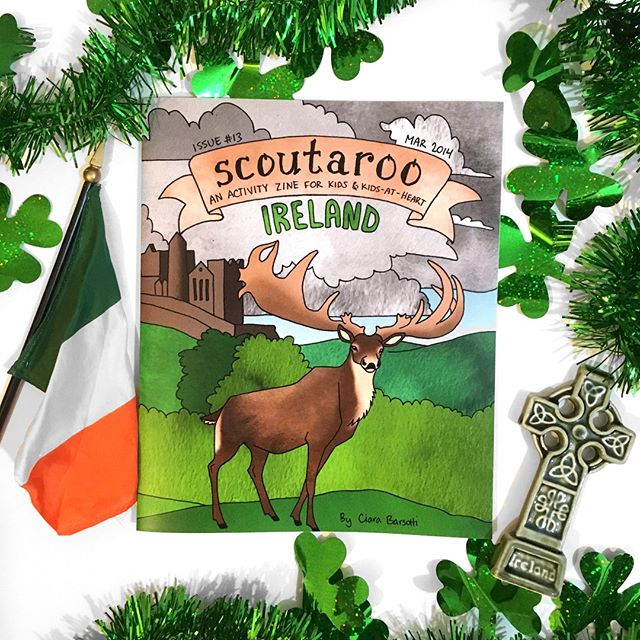 Issue #13: Ireland has finally shipped! Oh well, I wanted it to come out in March anyway. It's still in time for St. Patrick's Day! ☘️ It's not too late to get a copy! (Link in bio)