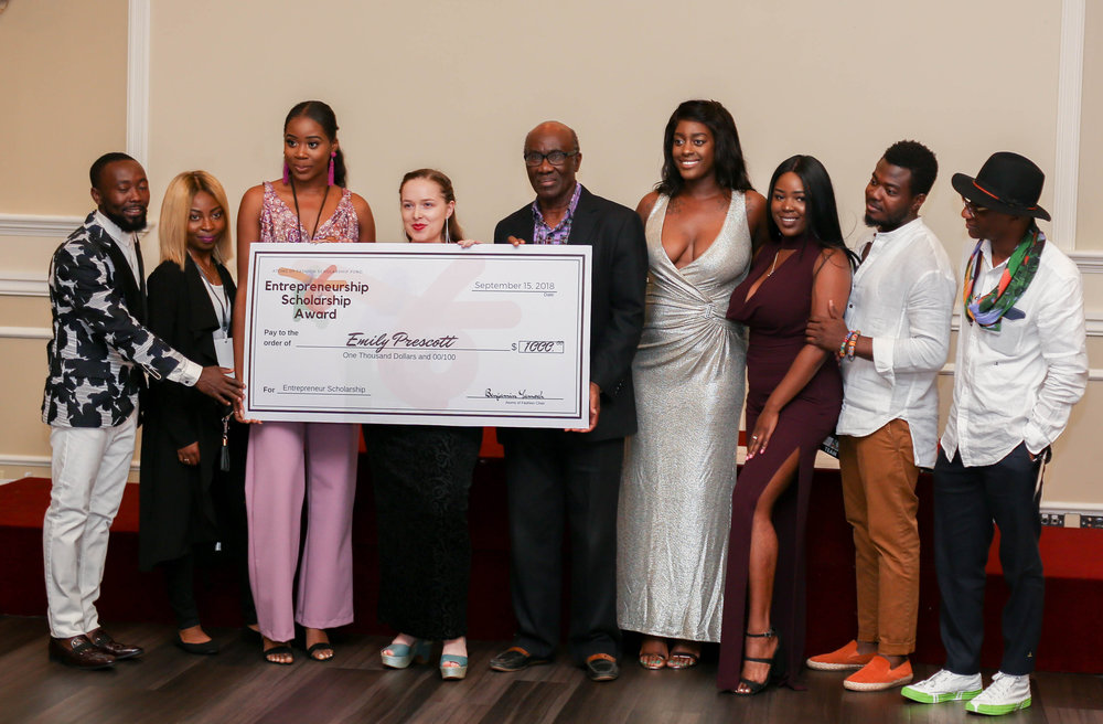 ATOMS OF FASHION SCHOLARSHIP FOUNDATION - ESA SCHOLARSHIP PRESENTATION