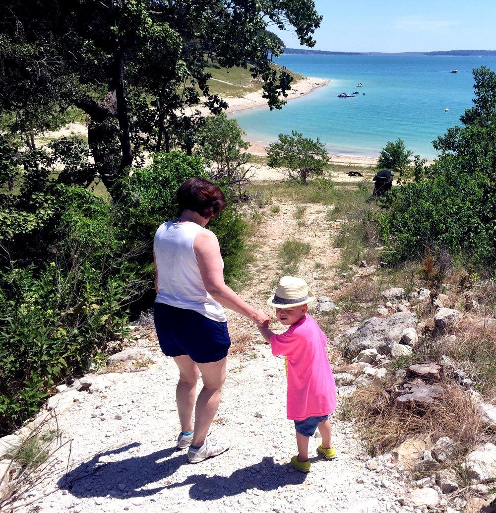 Bix_Julie_to the lake.jpg