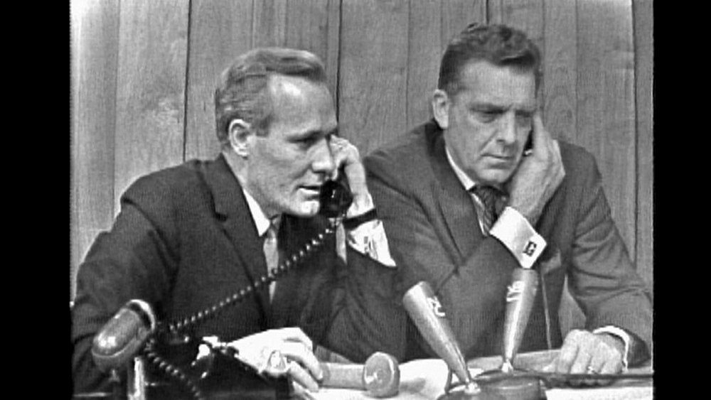NBC's Frank McGee and Chet Huntley on 11/22/63.