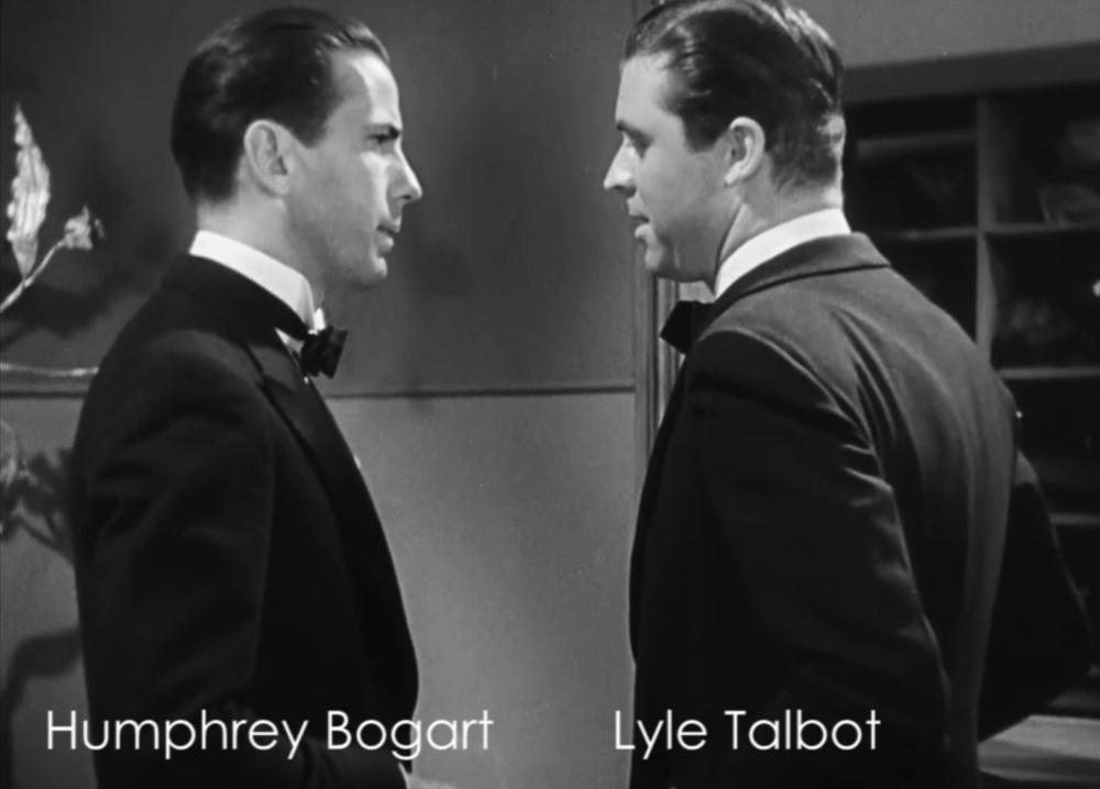 "Bogie's big scene from ""Three On A Match"""