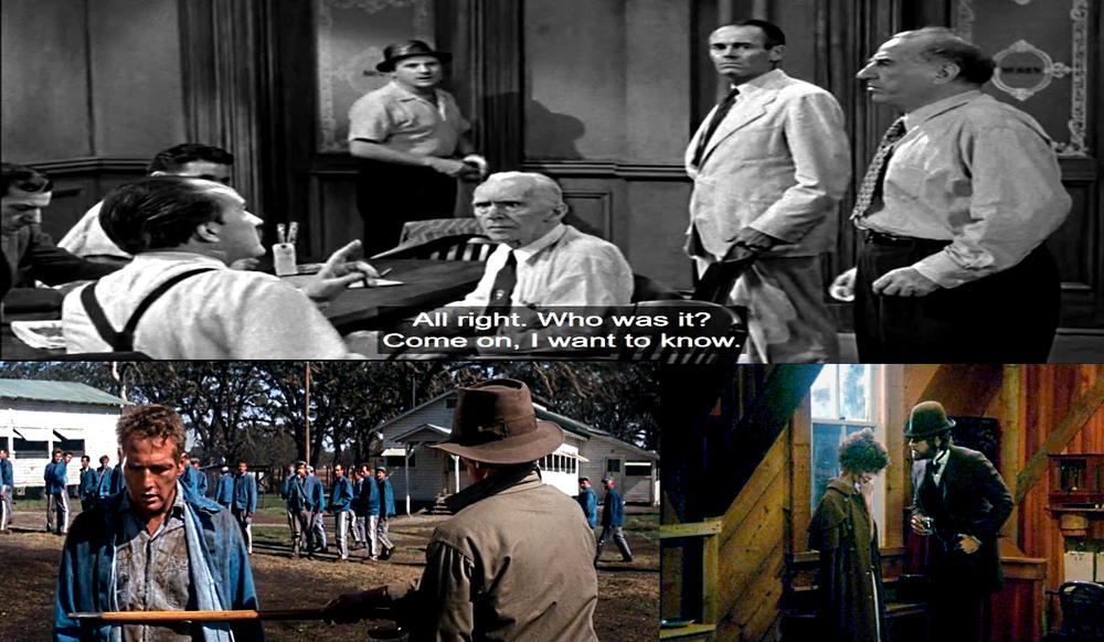 Counterclockwise: 12 Angry Men, Cool Hand Luke, McCabe & Mrs. Miller