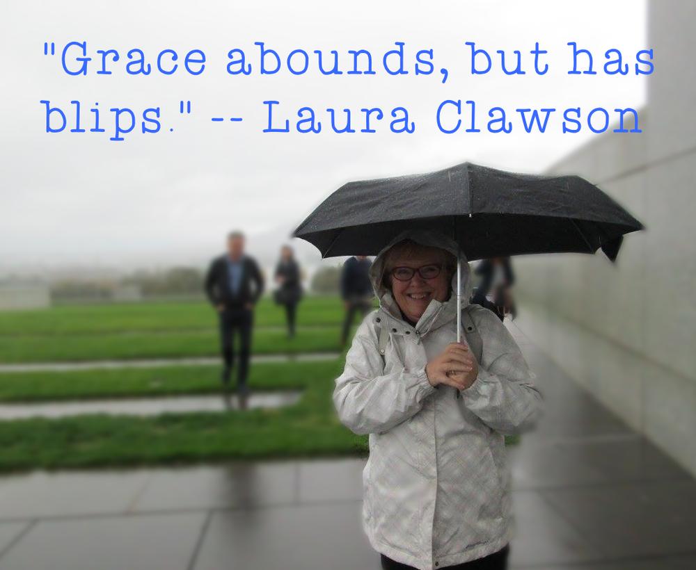 Laura in Australia, always smiling.