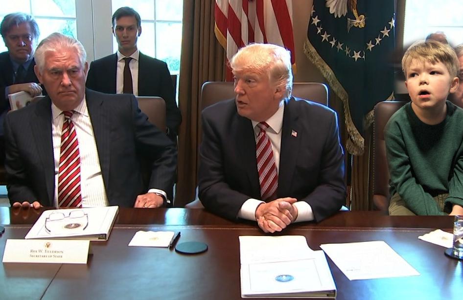 Bix in Cabinet meeting
