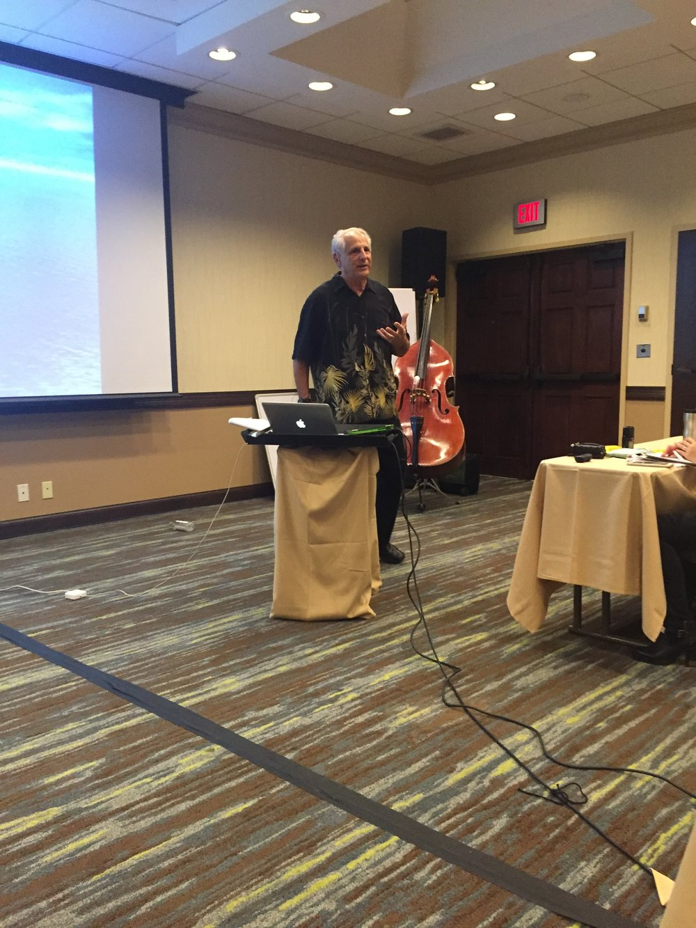 Barry Green, The Inner Game of Music Masterclass at IVACON 2017, San Diego.
