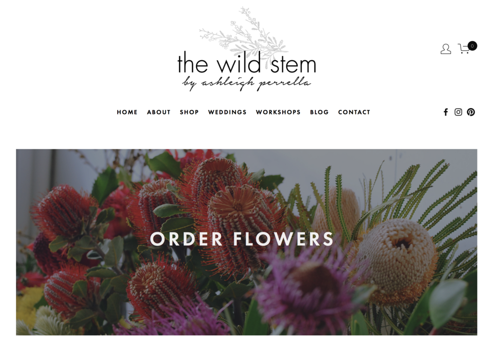 The Wild Stem - Florist     The Wild Stem studio is housed at  Stackwood , a creative venue and concept store in Fremantle. It is here that we craft our flowers, host our workshops and meet with our clients and friends.   E:  hello@thewildstem.com.au   W:   www.thewildstem.com.au