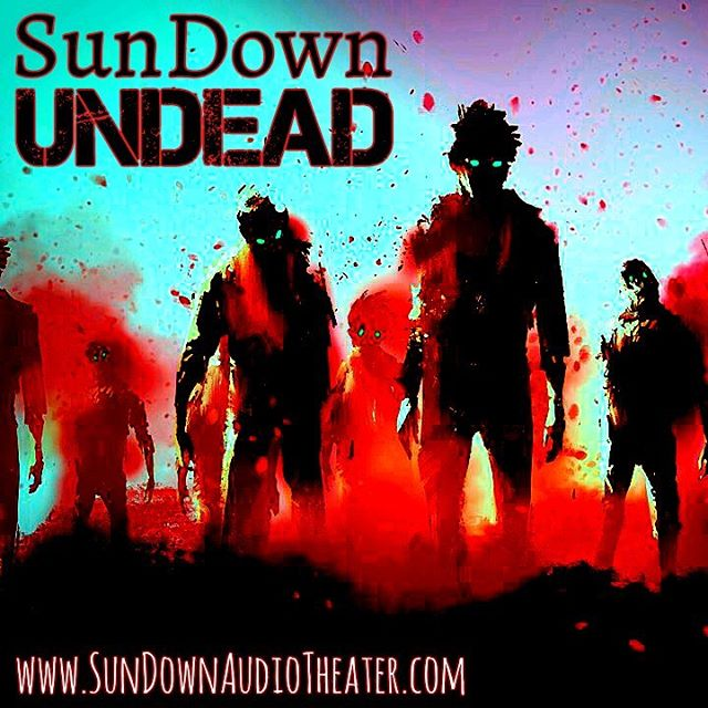 Need a break from the radio? Try a #podcast. The perfect blend of #horror and #comedy, you'll love this tale about the #undead. #zombies #audiodrama @isaakwells @_leanneosmond__ @fletchstrong @ariademaris