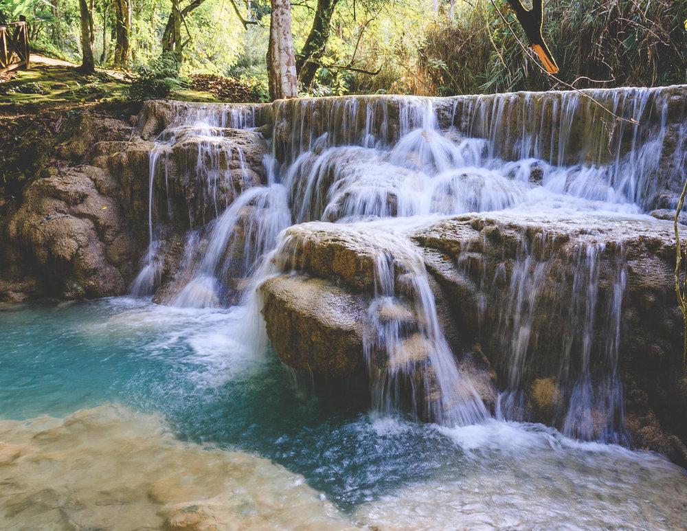 Kuang Xi Falls