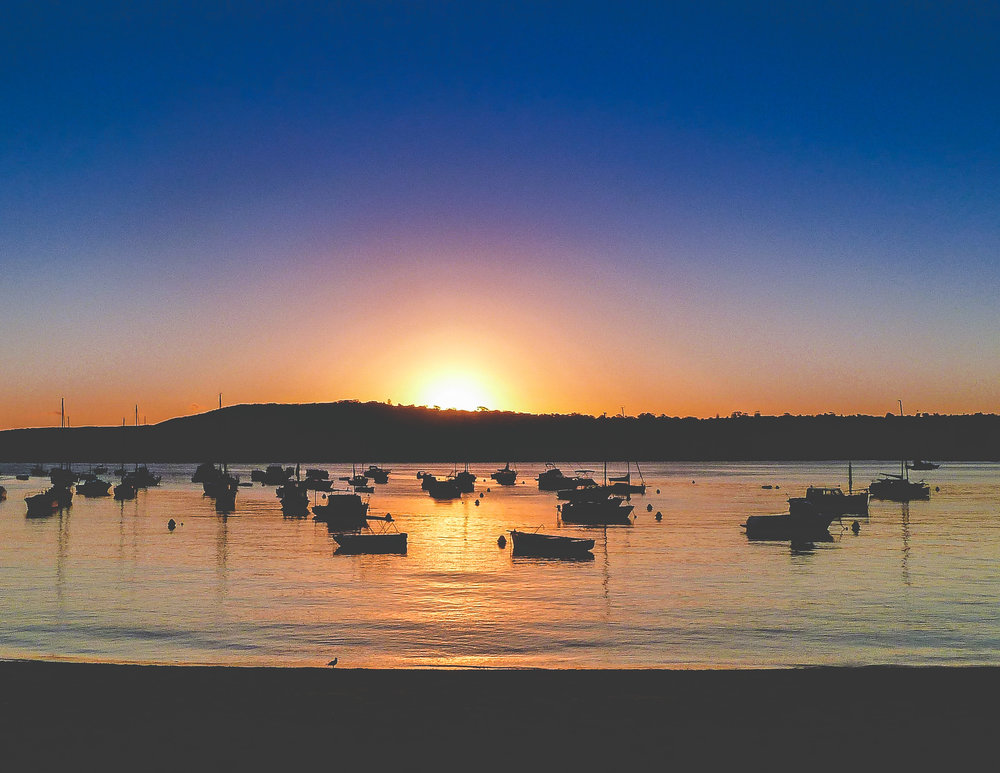 Ways to save money in Sydney: Sunset from Little Manly