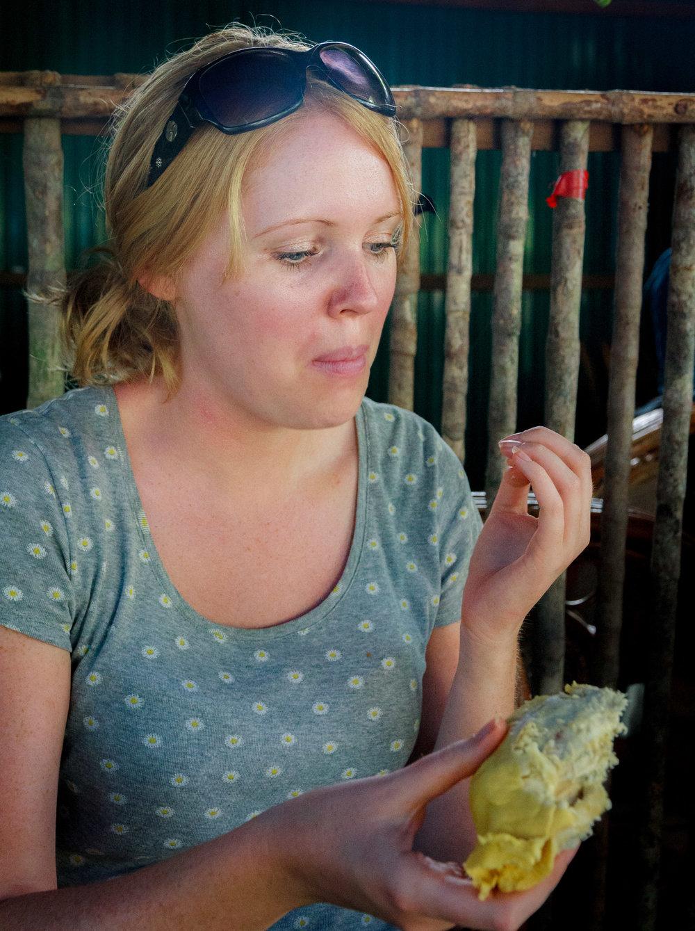 Tasting Durian