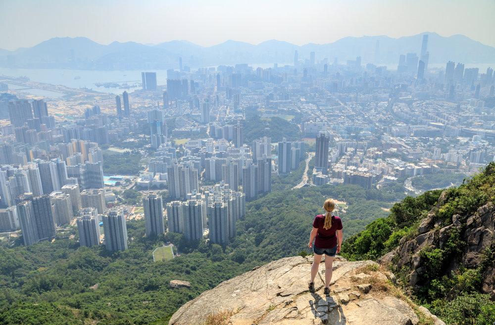 Instagrammable spots in Hong Kong: Lion Rock Peak