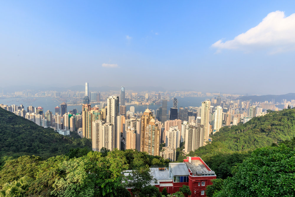 Instagrammable spots in Hong Kong: Victoria Peak, Hong Kong