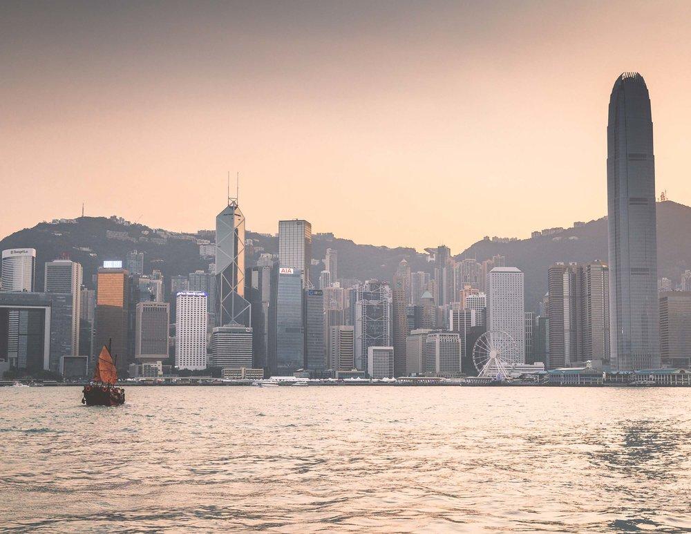 Star Ferry Pier, Hong Kong