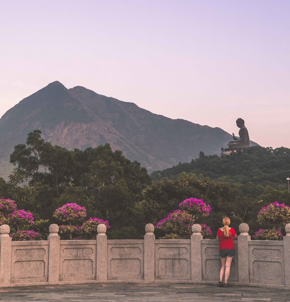 Instagrammable spots in Hong Kong: Tian Tan Buddha, Hong Kong