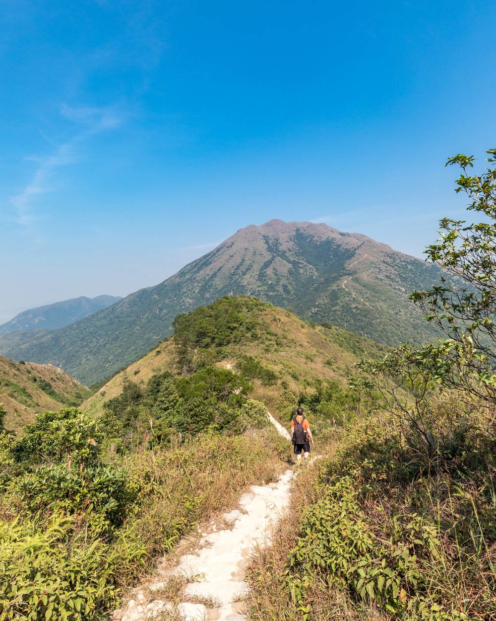 Lantau Peak Trail Views