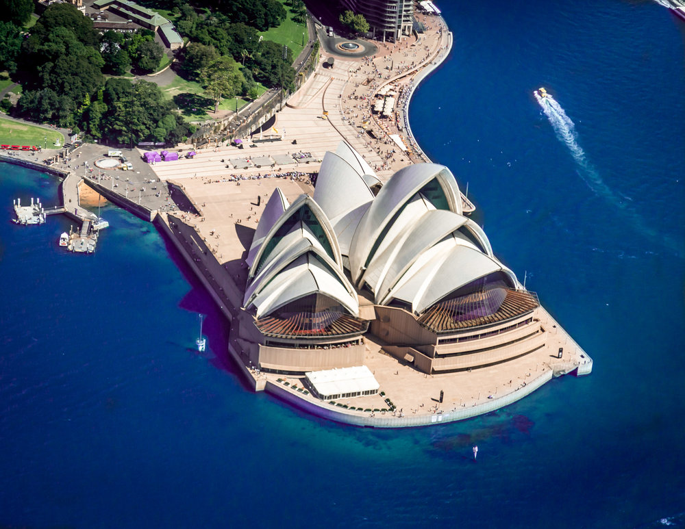 Sydney Opera House from above