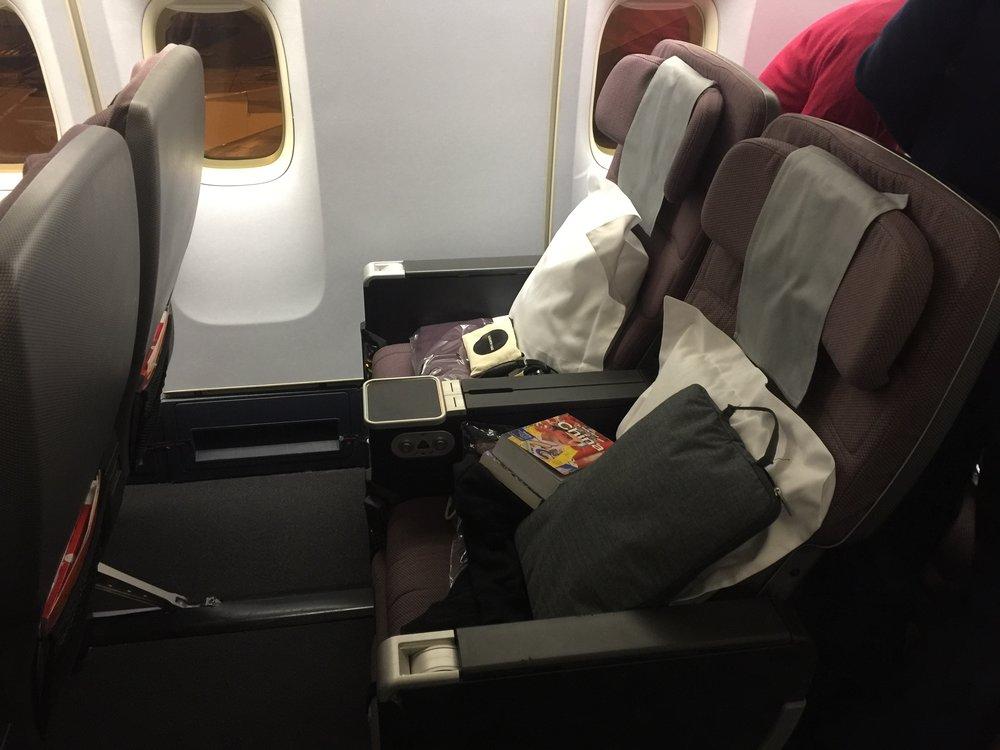 Is premium economy worth it?: The seat