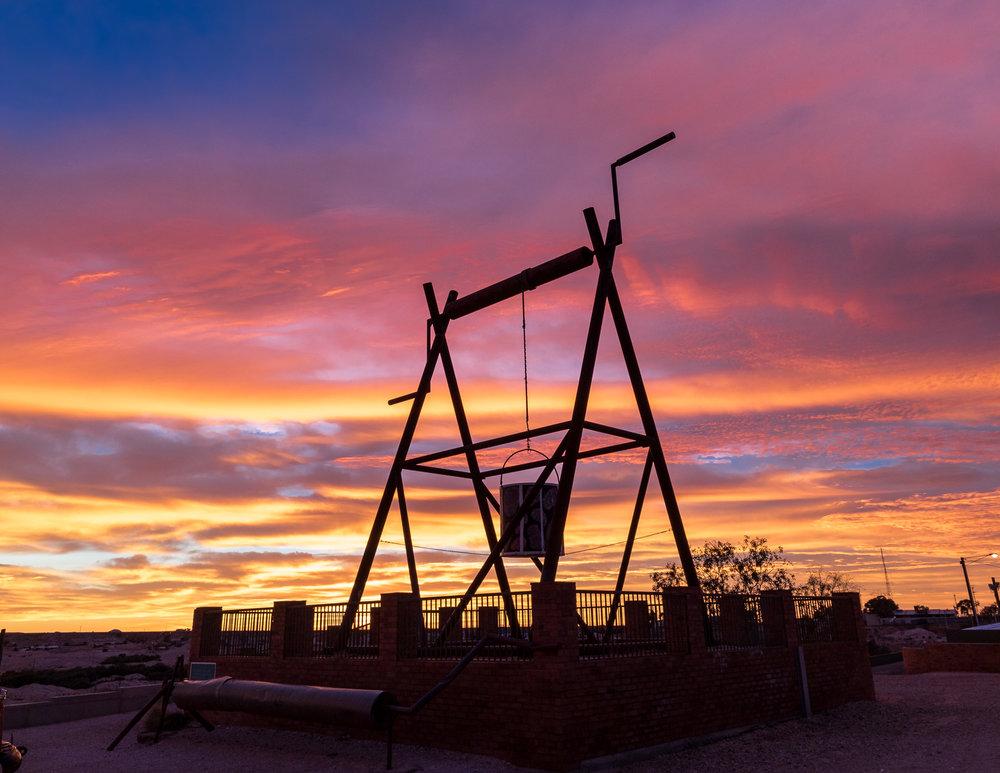 Sunrise at Big Winch
