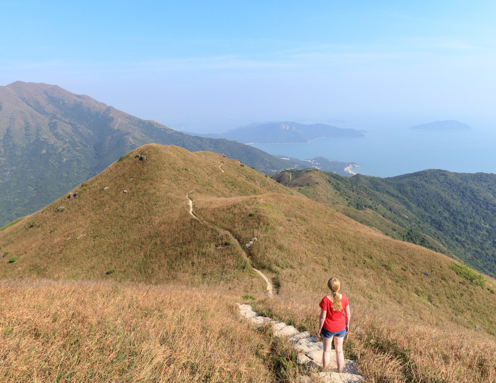 The best walks in Hong Kong: Lantau Peak Trail