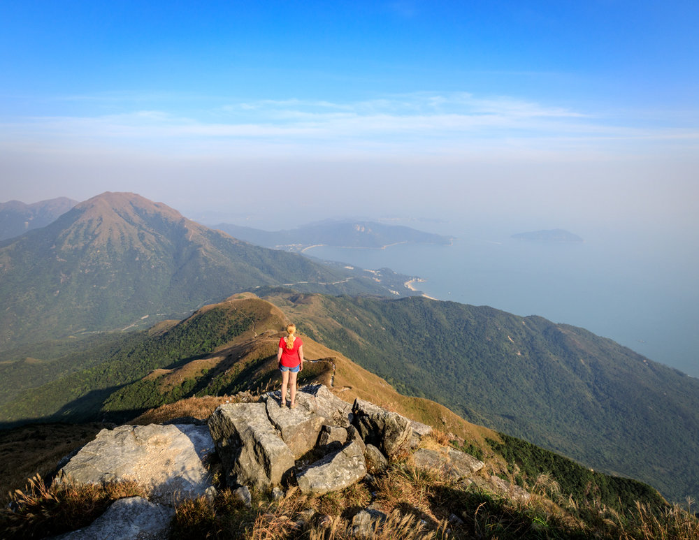 Top Hong Kong hikes: Lantau Peak