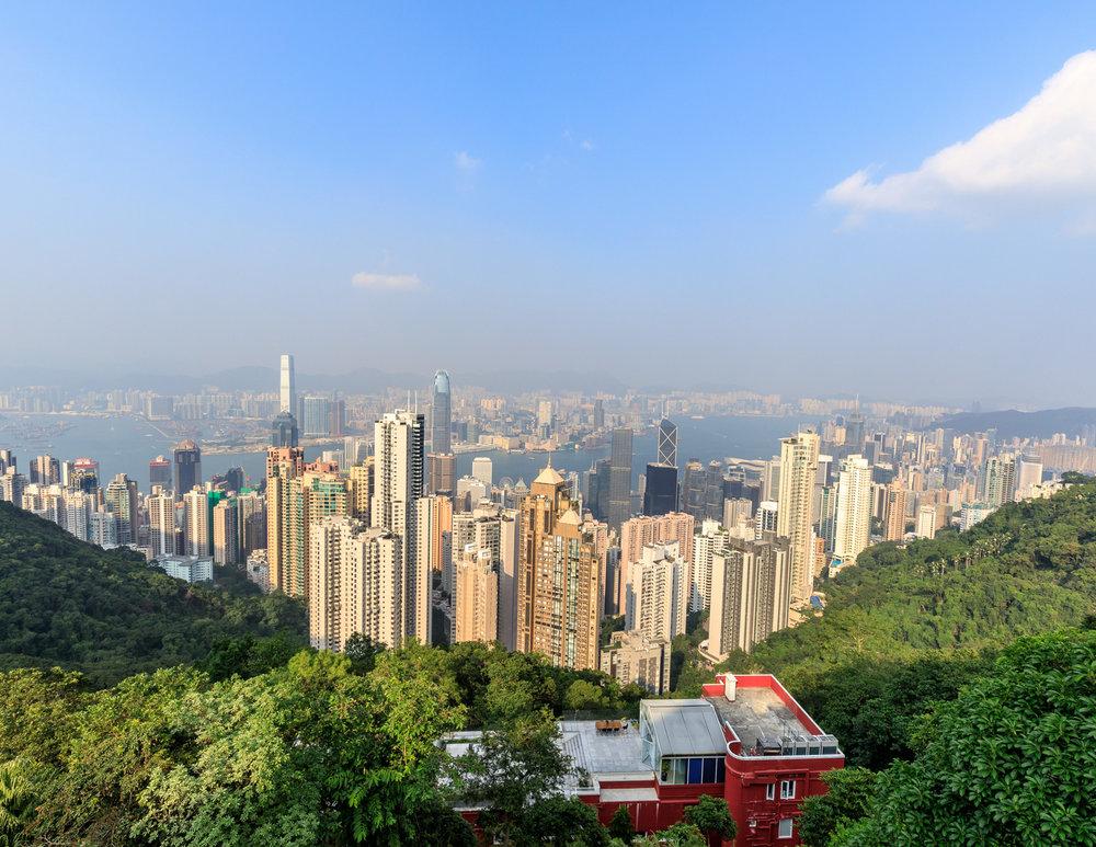 Best walks in Hong Kong: Victoria Peak