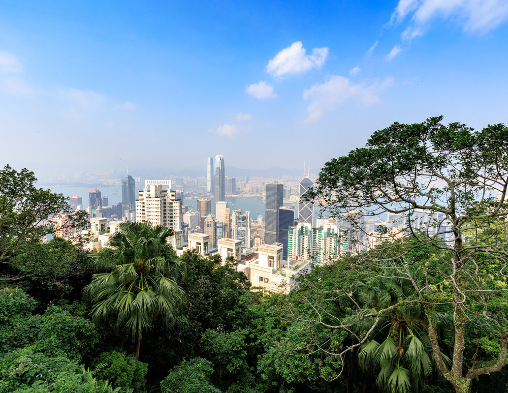 Best walks in Hong Kong: Victoria Peak Trail