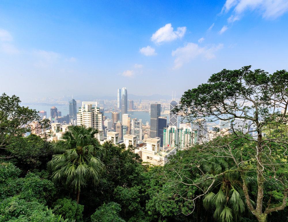 Best walks in Hong Kong: Victoria Peak Trail