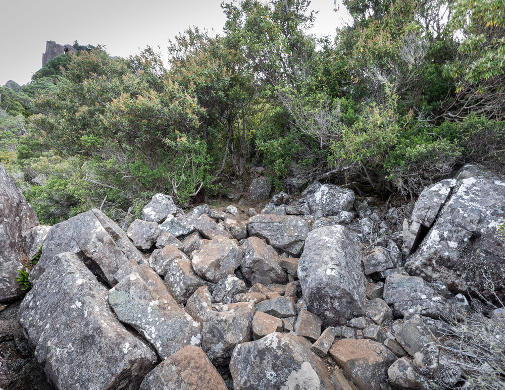 Rocky parts of Bishop & Clerk