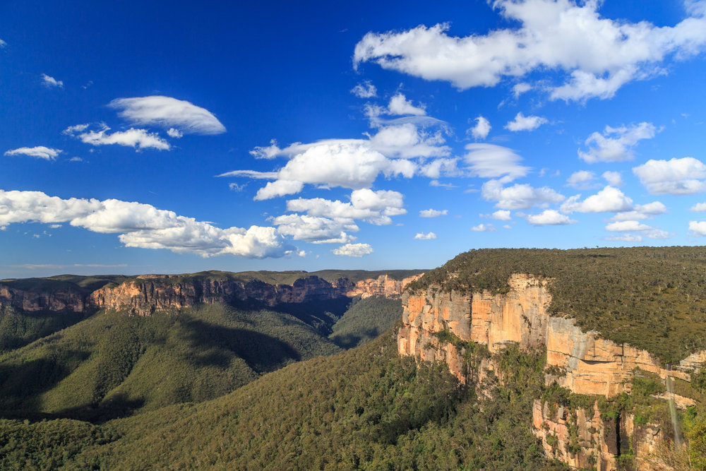 The view from Govetts Leap, Blue Mountains