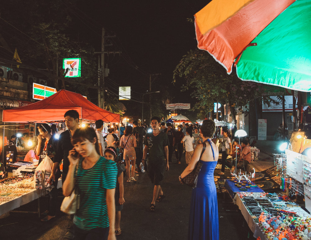 Night markets, Chiang Mai, Best of Thailand