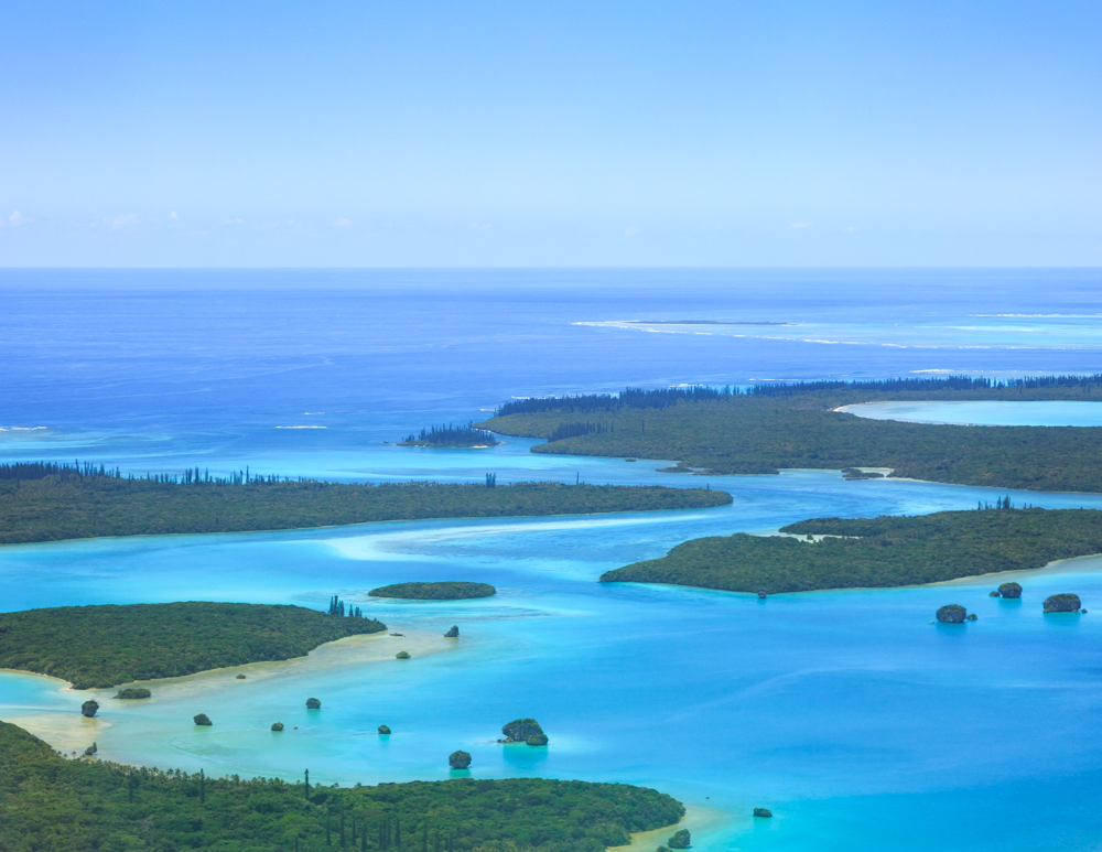 Top 10 things to do in New Caledonia, Flight from Nouema to Iles Des Pins