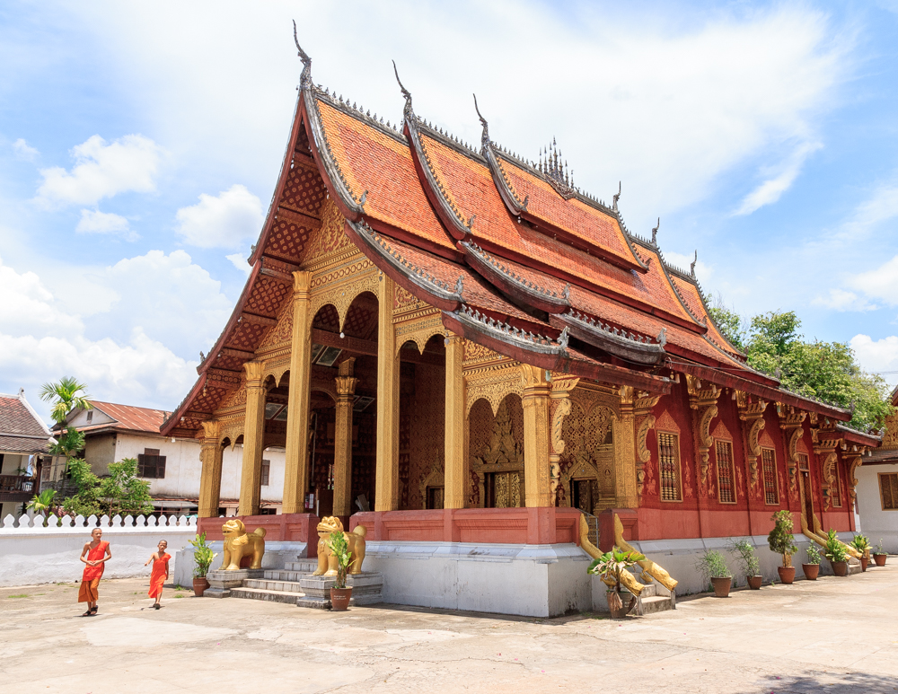 Best things to do in Laos, Temple Hop in Luang Prabang