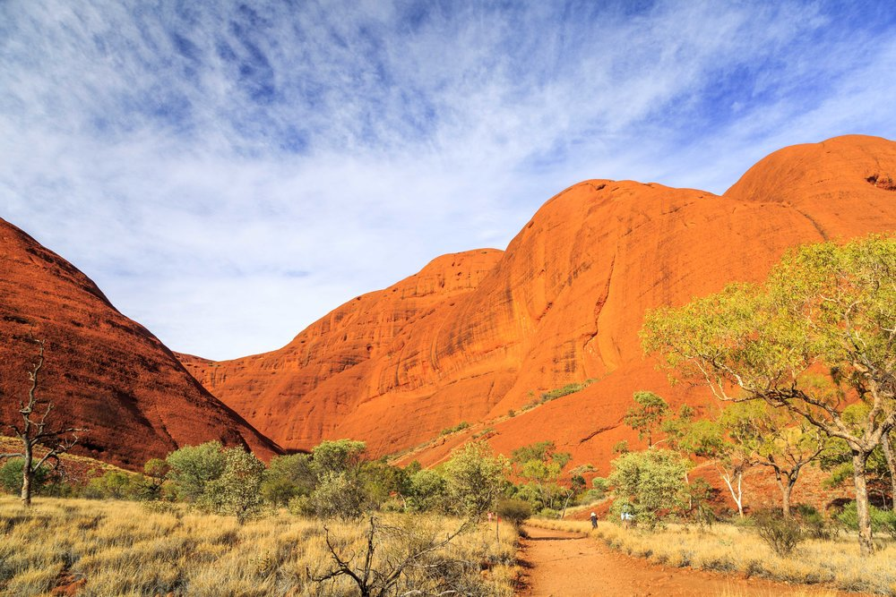 Instagrammable spots in the Outback: Kata Tjuta
