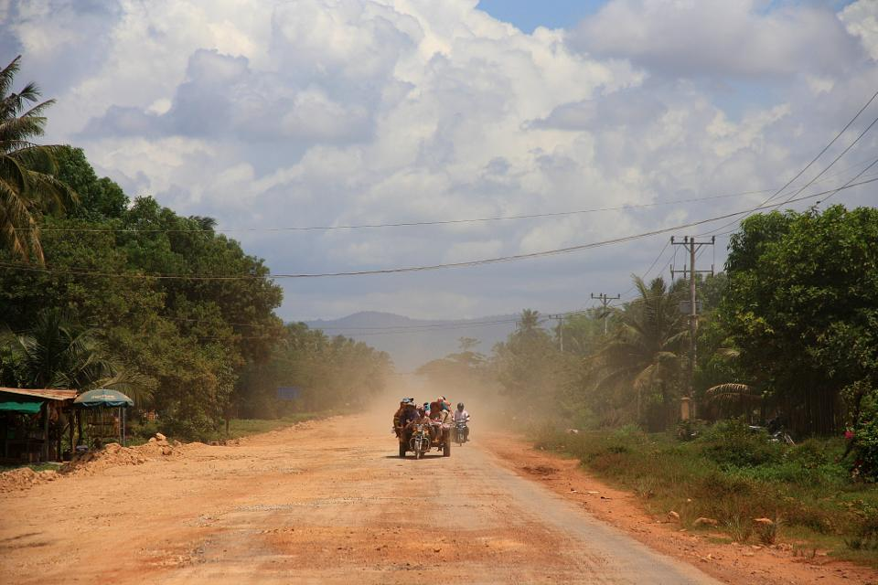 Best things to go in Cambodia: Motorcycling in Sihanoukville