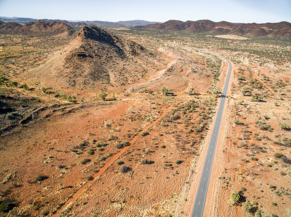 Instagrammable spots in the Outback: Ross Highway