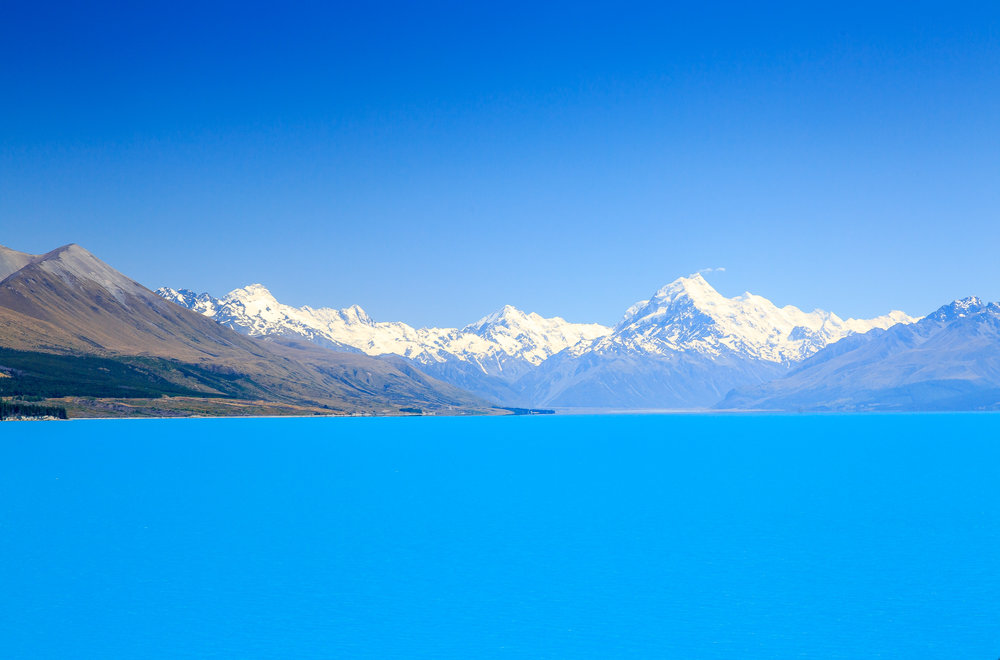 Our big announcement: the Great 9 Walks of New Zealand in 9 weeks, Lake Pukaki
