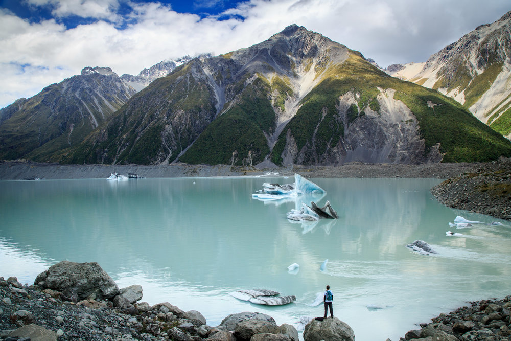 Our big announcement: the Great 9 Walks of New Zealand in 9 weeks, Mount Cook